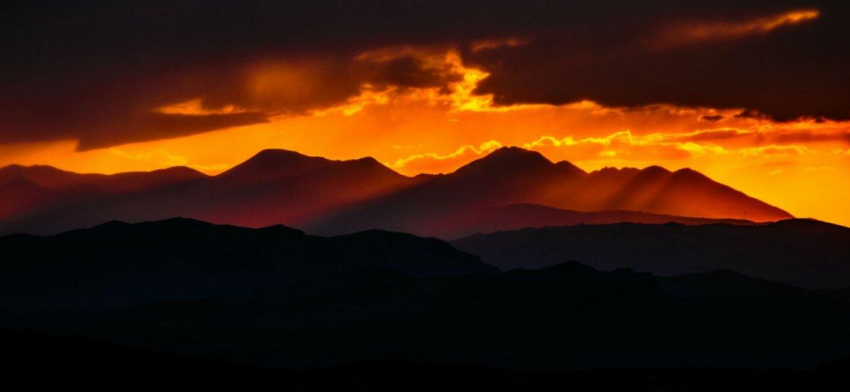 mongolia-sunset